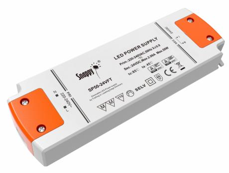 LED driver 24V DC 50W dæmpbar 177x58x22mm