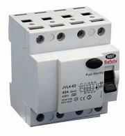 Safety HPFI 4P 6kA/30mA Type A 40A N-right