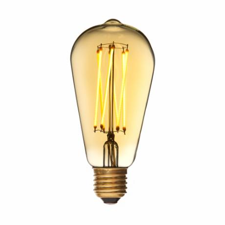 DANLAMP LED Edison Gold 4W 920 250lm E27 dim 320°
