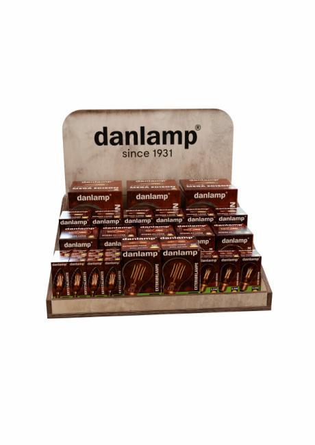 DANLAMP LED kampagne favorit borddisplay